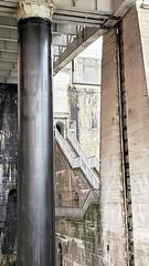 Stairs; door