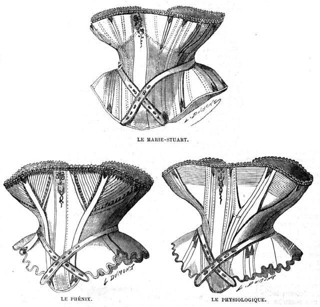 La Mode Illustrée, corsets