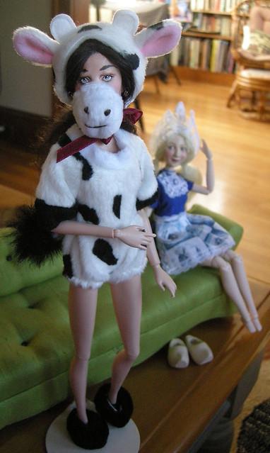 Cow girl Kai!