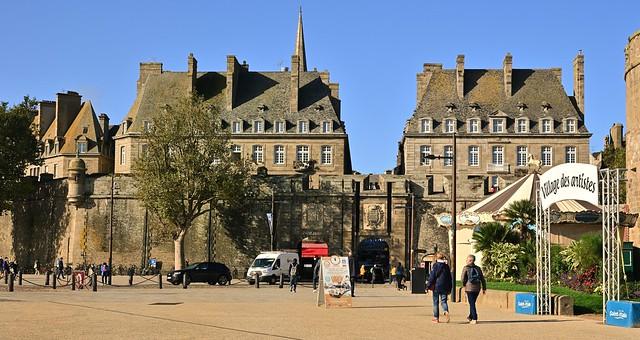 Saint-Malo / La Grand' Porte / Porte Saint-Vincent