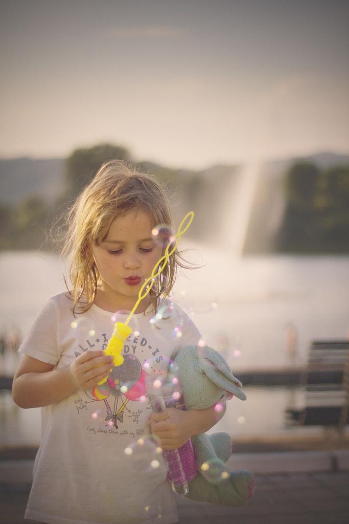 Bubbles, bubbles...
