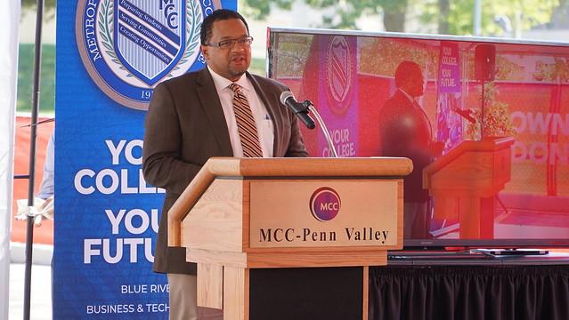 Engineering Technology groundbreaking, MCC-Penn Valley, Oct. 6, 2020