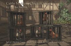 Cattle Market: Chicken Cages