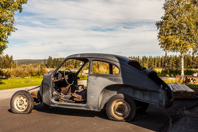 The rest of a Volvo PV 544