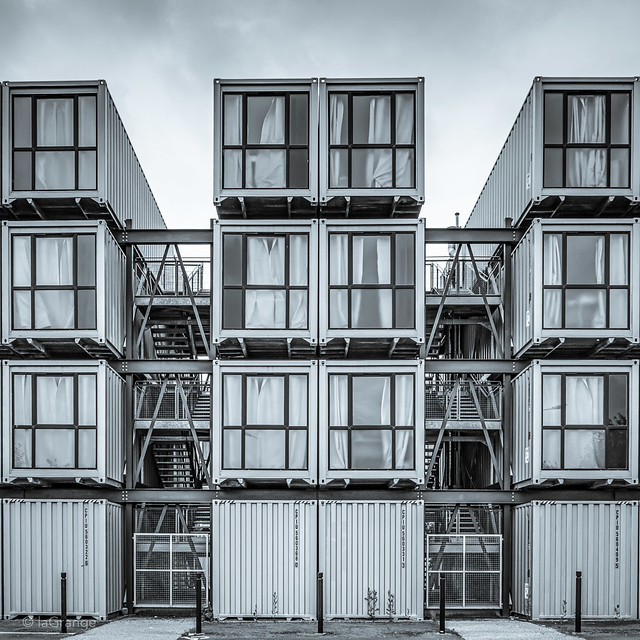 Container flats