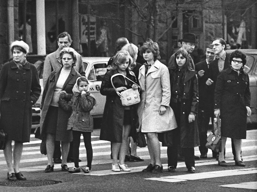 1970-е. У «Наташи». Площадь Пушкина