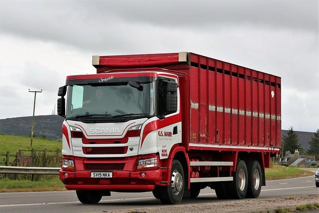G S Marr Scania G500 XT SV19NKA