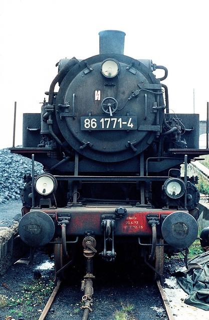 DR 86 1771-4 (ex 86 771; BMAG 1942; ÜK) Bw Halle P