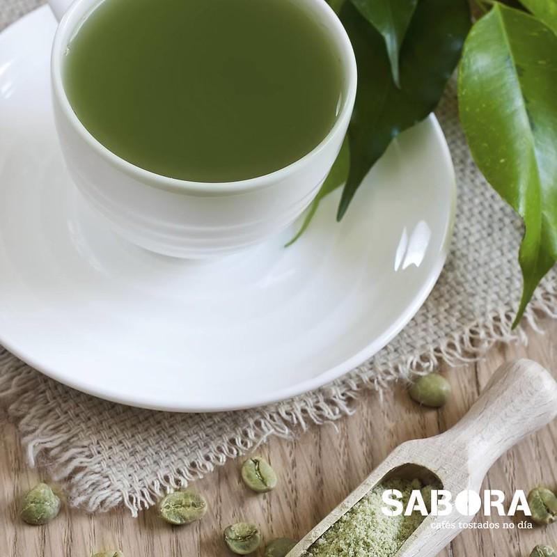 Infusión de café en verde