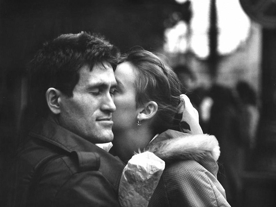 1980-е. Поцелуй у Белорусского