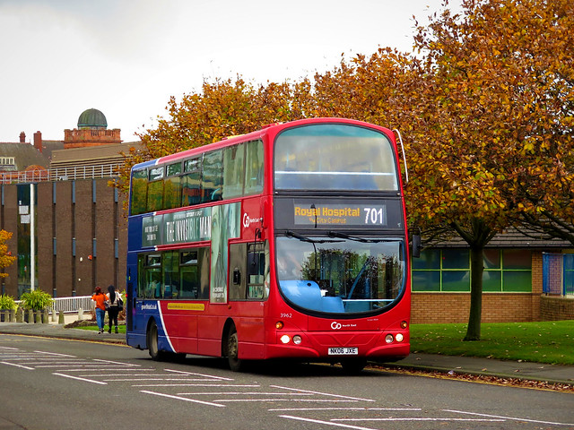 Go North East 3962 (NK06JXE) - 14-10-20