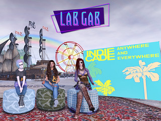Second Life's Lab Gab - IndieCade Oasis