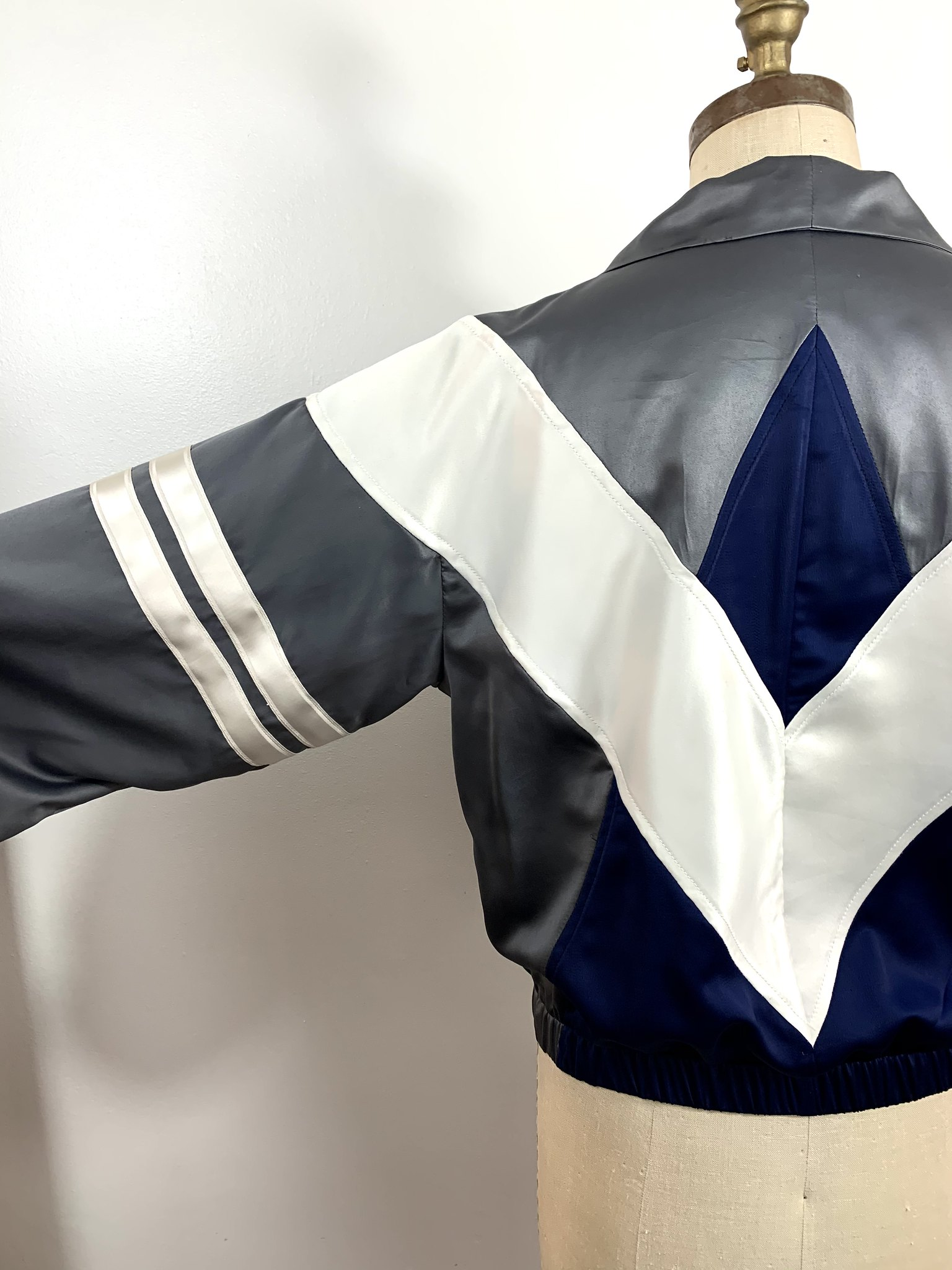 80s Silk Windbreaker
