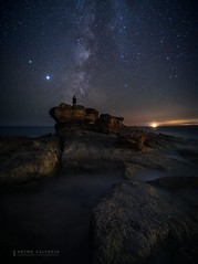 The privilege to meet the Milky Way ...