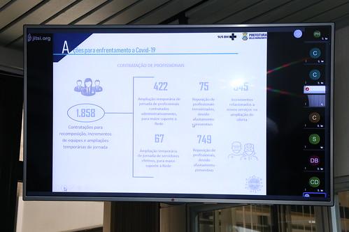 Audiência pública para apresentação de relatório detalhado pelo gestor do SUS no município referente ao 2º quadrimestre/2020 - 28ª Reunião Ordinária - Comissão de Saúde e Saneamento