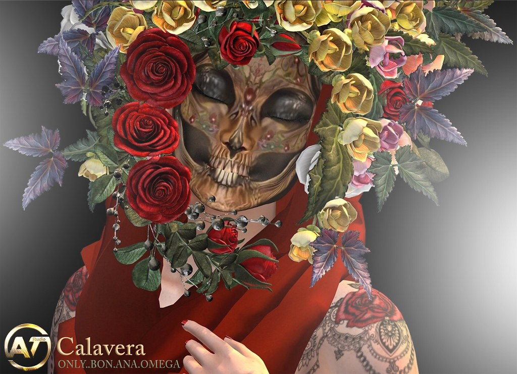 Calavera mask vendor 3