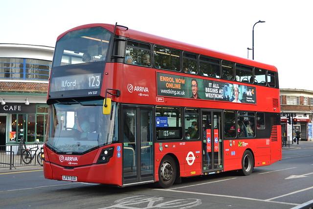 Arriva London HV337 LF67EUD