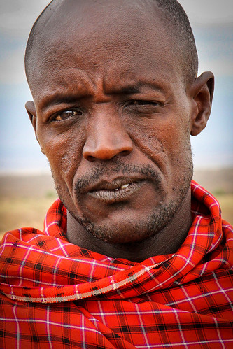 Maasai head of the family, Kenya. Photographer Spotlight: Mathias Falcone
