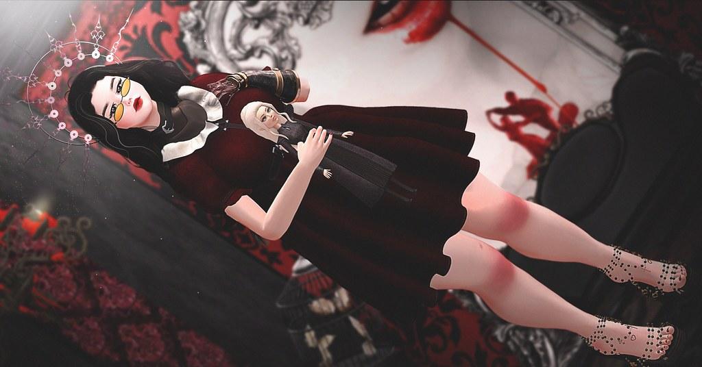 Post #71 Minerva Báthory, the vampire #BaroquedGothicalEvent