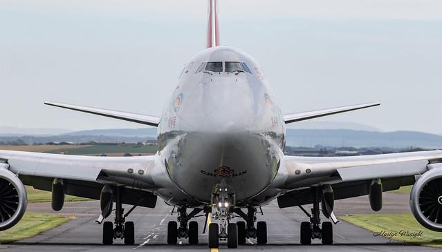 Cargolux Boeing 747-800F