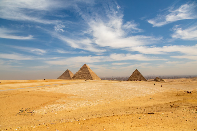 Armchair Traveling - The Pyramids at Giza