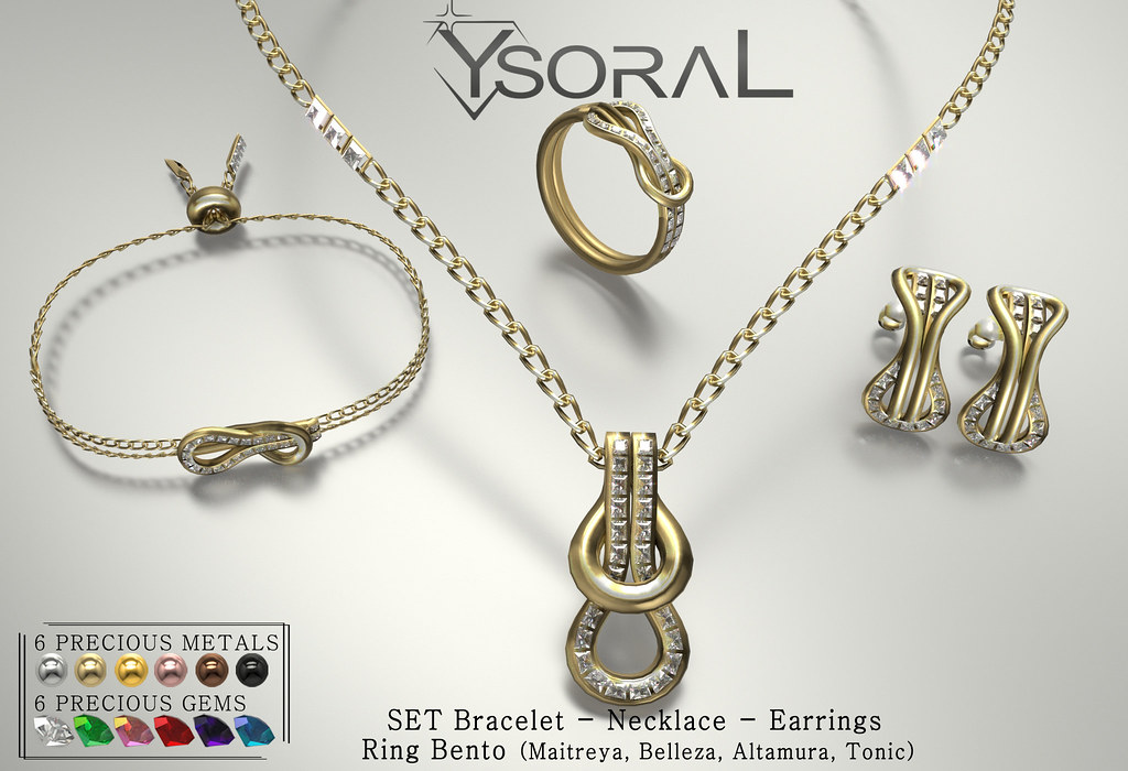 ~~ Ysoral ~~ .:Luxe Set Inesse:.(RING BENTO)
