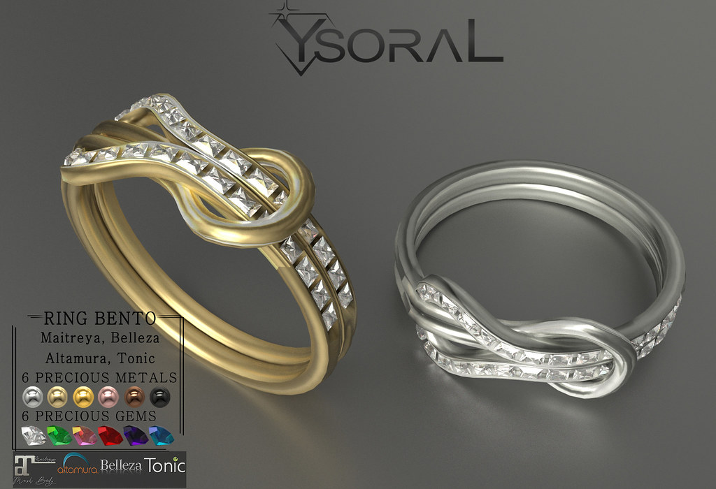 (BENTO)~~ Ysoral ~~ .:Luxe Set Bracelet & Ring Inesse: