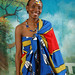 DSC_7217 Kenny from Lesotho South Africa in Swazi Traditional Cloth and Beads Shoreditch Studio London