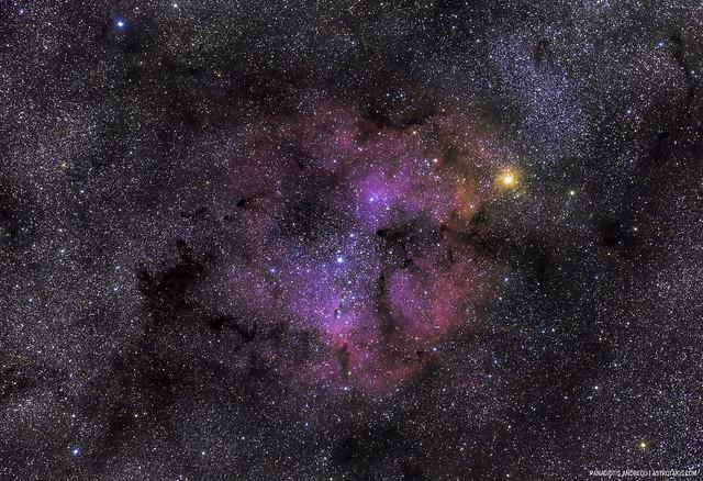IC 1396, Exmoor, 2020