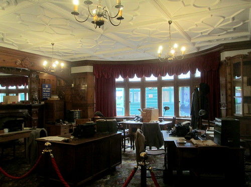 Bletchley Park Mansion Library 1
