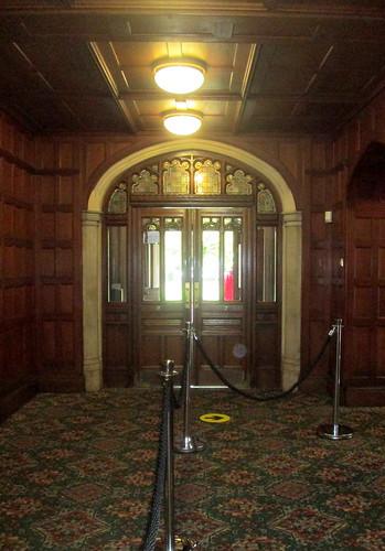 Bletchley Park Mansion entrance