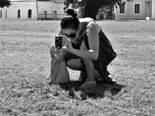 Nina - Photographer at work