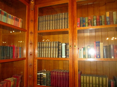Bletchley Park Mansion Library 4