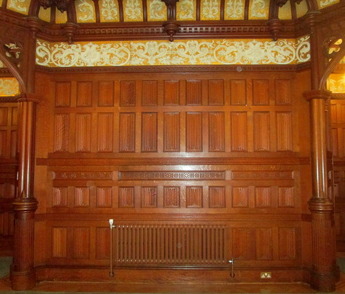 Bletchley Park, Mansion wood Panelling
