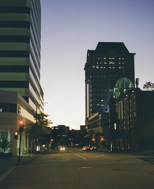 Fall downtown night 2