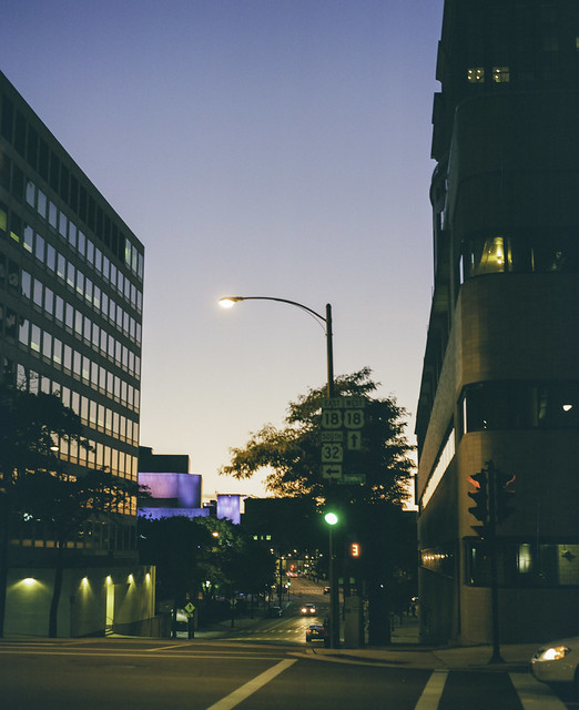 Fall downtown night 3