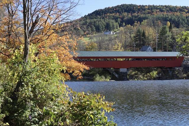 Taftsville covered bridge.