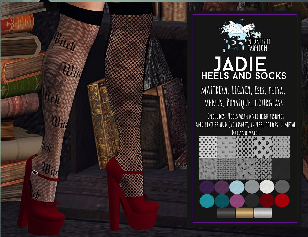 ::AMF:: Jadie Heel and Socks AD