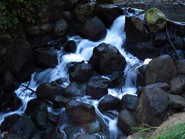 Mini-Waterfall in Matsunoyama Onsen