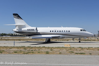 N363SM Dassault Falcon 2000 Dumont Jets Van Nuys Airport KVNY 13.09-18