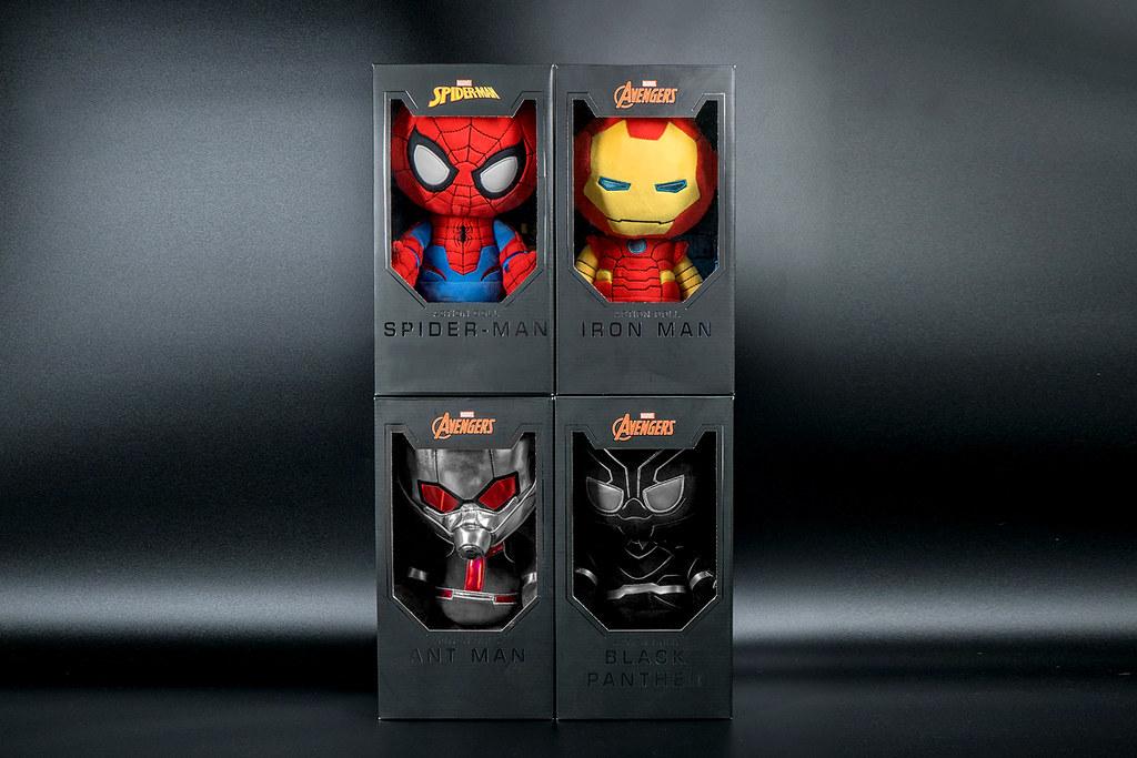 漫威英雄集結!首創關節可動的「漫威英雄玩偶」搶先開賣!鋼鐵人、黑豹等你來收集