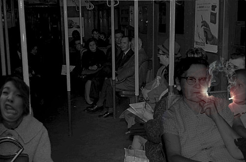 Forgotten History: During the legendary New York City blackout of November, 1965, Mabel Linkletter and her son, Buster, offered the only light available on the stalled Lexington Avenue Line, thanks to their chain-smoking habit.