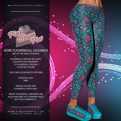 Kore Sugarskull Leggings