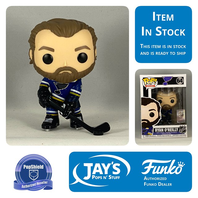 Ryan Oreilly NHL FUNKO POP St.Louis Blues