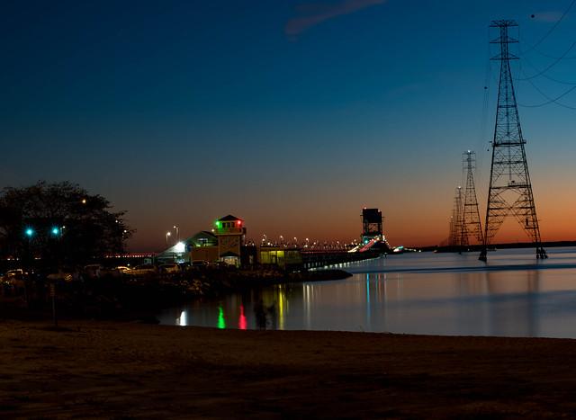 Huntington Beach Park view