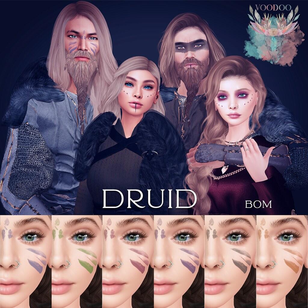Voodoo Druid BOM Ad