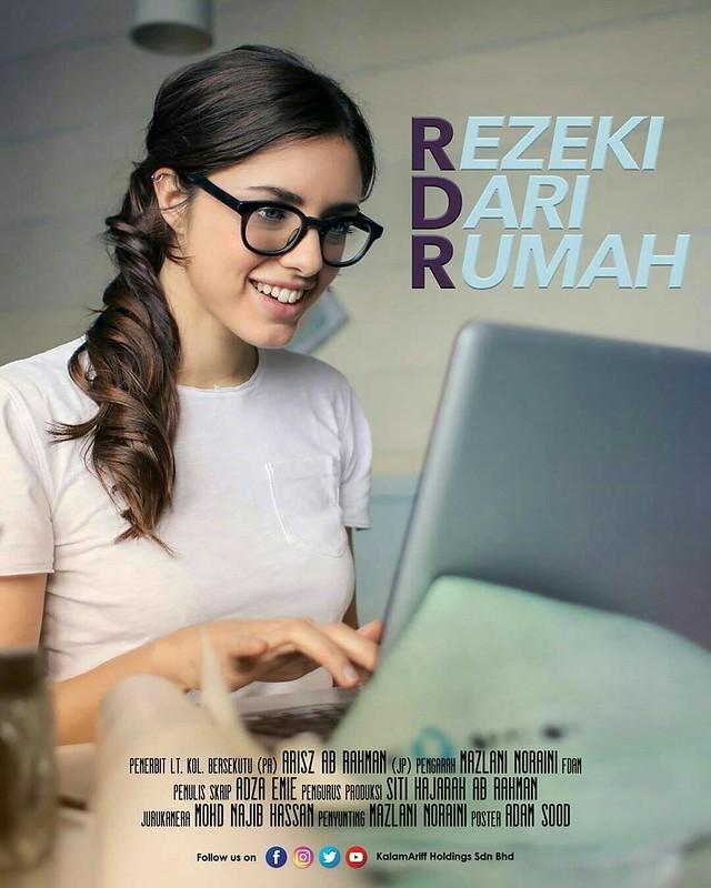 poster Rezeki dari Rumah