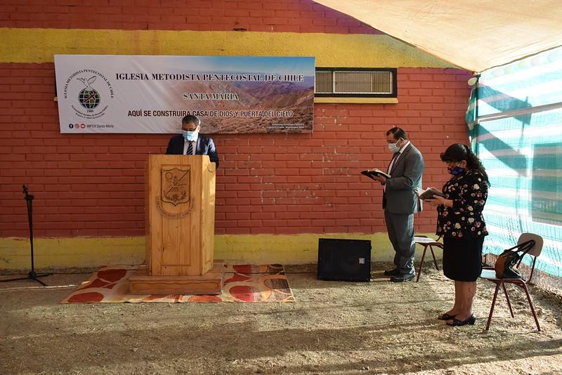 Iglesia Metodista Pentecostal de Chile – Santa María Ceremonia de Entrega de Terreno en Comodato.