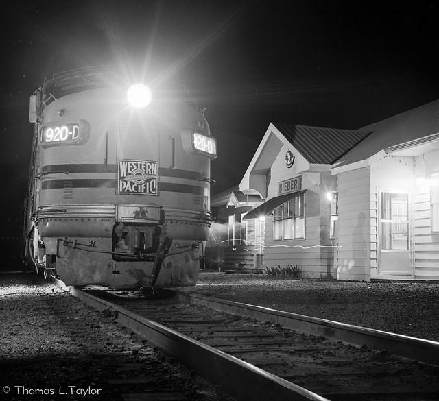 Crew and Railroad change at Bieber, CA
