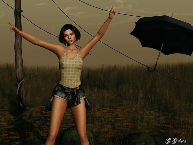 My umbrella, ella, ella